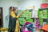 В Покровской епархии при центре гуманитарной помощи открылся пункт социального проката