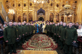 Духовенство и миряне Смоленской епархии сугубо помолились о Святейшем Патриархе Кирилле