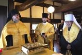 В Никольском монастыре в Японии совершен благодарственный молебен