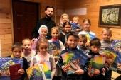 Издательский Совет передал книги детям из семей военнослужащих, побывавших в военных командировках в Сирии