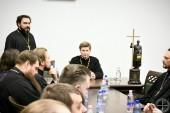Руководитель Синодального отдела по делам молодежи принял участие в совещании руководителей епархиальных молодежных отделов Белорусского экзархата