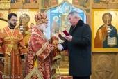 Патриарший экзарх всея Беларуси совершил Литургию в храме Рождества Пресвятой Богородицы деревни Тарасово Минской области