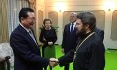 Митрополит Волоколамский Иларион прибыл в Пхеньян