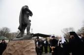 Предстоятель Русской Церкви освятил памятник святому благоверному князю Александру Невскому в Балтийске