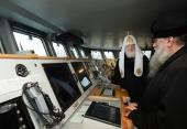 Святейший Патриарх Кирилл посетил Балтийскую базу ВМФ России