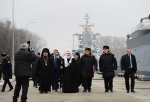 23-25 ноября Святейший Патриарх Кирилл посетил Калининградскую епархию