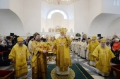 Предстоятель Русской Церкви освятил храм святой мученицы Лидии в Калининграде