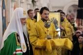 Слово Святейшего Патриарха Кирилла после Литургии в храме святой мученицы Лидии в Калининграде