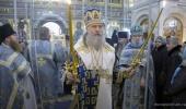В праздник иконы Божией Матери «Милостивая» председатель Синодального отдела по монастырям и монашеству совершил Литургию в Зачатьевском ставропигиальном монастыре