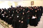 В Дивеевском монастыре и Саровской пустыни состоялось межрегиональное совещание монашествующих Нижегородской, Мордовской и Чувашской митрополий
