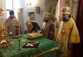 Председатель ОВЦС совершил Литургию в Троицком храме Пхеньяна и посетил Посольство России в КНДР