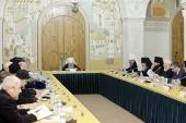Состоялось заседание Церковно-общественного совета по увековечению памяти новомучеников и исповедников Церкви Русской
