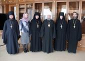 Межведомственная комиссия по аккредитации курсов для монашествующих посетила Саранскую духовную семинарию