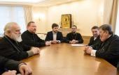Митрополит Минский Павел встретился с представителями рабочей группы «Примирение в Европе — задача Церквей в Украине, Беларуси, Польше и Германии»