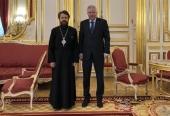 Состоялась встреча председателя ОВЦС с послом Российской Федерации во Франции