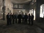 Российская делегация посетила разрушенные войной сирийские храмы