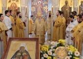 Митрополит Крутицкий Ювеналий возглавил в Коломне торжества по случаю дня памяти святителя Филарета Московского