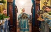 В праздник Введения во храм Пресвятой Богородицы Патриарший экзарх всея Беларуси совершил Литургию во Введенском монастыре деревни Богуши