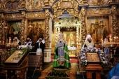 Слово Святейшего Патриарха Кирилла в годовщину интронизации святителя Тихона после молебна в Донском монастыре