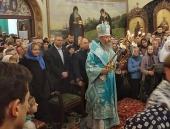 В праздник Введения во храм Пресвятой Богородицы Блаженнейший митрополит Онуфрий возглавил престольные торжества в Введенском монастыре Киева