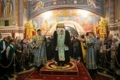 В Ханты-Мансийской епархии пребывает ковчег с частью пояса Пресвятой Богородицы и частицей мощей праведной Анны