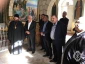 Под патронажем властей Иерихона начались ремонтные работы на подворье Русской духовной миссии