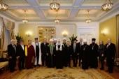 Святейший Патриарх Кирилл возглавил юбилейное заседание Президиума Межрелигиозного совета России