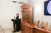 В Общецерковной аспирантуре прошла первая секция VIII Иеронимовских чтений