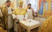 В день памяти благоверного князя Александра Невского Патриарший экзарх всея Беларуси совершил Литургию в Александро-Невском храме Минска
