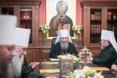 Началось очередное заседание Синода Украинской Православной Церкви