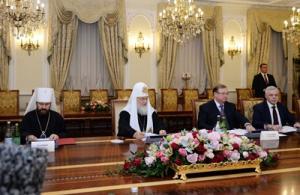 Выступление Святейшего Патриарха Кирилла на заседании Президиума Межрелигиозного совета России