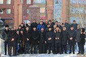 В столице Казахстана молитвенно почтили память жертв Спитакского землетрясения 1988 года