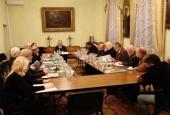 В Издательском Совете состоялось рабочее заседание Палаты попечителей Патриаршей литературной премии