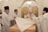 Митрополит Крутицкий Ювеналий освятил Троицкий и Сергиевский храмы в подмосковной Коломне