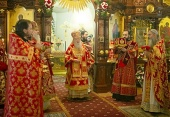 Патриарший наместник Московской епархии возглавил торжества по случаю 360-летия Екатерининского мужского монастыря г. Видное