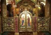 В Храме на Крови в Екатеринбурге состоялось освящение «Царской комнаты»