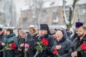 Викарий Киевской епархии принял участие в церемонии чествования героев Чернобыля