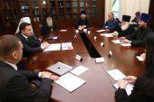 Состоялось заседание Попечительского совета Благотворительного фонда Московской епархии по восстановлению порушенных святынь
