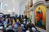 Слово Святейшего Патриарха Кирилла в Неделю 28-ю по Пятидесятнице в храме святой мученицы Татианы в Люблино