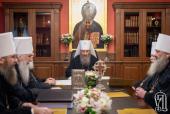 Блаженнейший митрополит Онуфрий возглавил заседание Синода Украинской Православной Церкви