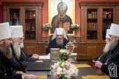 Синод Украинской Православной Церкви дал оценку ситуации, сложившейся после так называемого объединительного собора в Киеве