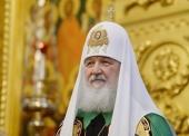 Святейший Патриарх Кирилл: «Мы молимся о том, чтобы никакая сила лжи не погубила духовную жизнь близкого нам братского народа»