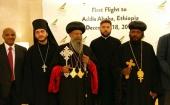 Глава Эфиопской Церкви посетил с кратким визитом Москву