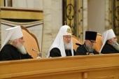 Святейший Патриарх Кирилл возглавил Епархиальное собрание города Москвы