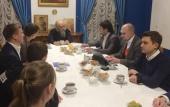 Председатель Синодального отдела по благотворительности встретился с координаторами проектов Союза добровольцев России