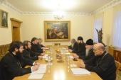 В ОВЦС состоялось заседание комиссии по обсуждению вопросов жизни епархий и приходов в дальнем зарубежье