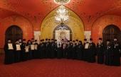 Святейший Патриарх Кирилл вручил церковные награды духовенству Московской городской епархии