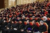 Участники Епархиального собрания города Москвы поддержали решения, принятые Священным Синодом в связи с антиканоническими действиями Константинопольского Патриархата