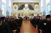 Собрание духовенства Смоленской епархии поддержало решение Священного Синода о прекращении евхаристического общения с Константинопольским Патриархатом