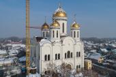 Глава Митрополичьего округа в Республике Казахстан совершил великое освящение храма во имя праведных Иоакима и Анны в Алма-Ате